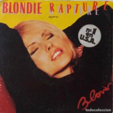 Discos de vinilo: BLONDIE. RAPTURE. SINGLE ESPAÑA. Lote 221902842