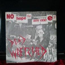 Discos de vinilo: DEAD WRETCHED 1982 EP .TEMPEST RECORDS BIRMINGHAM.. Lote 221911245