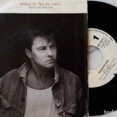 Discos de vinilo: PAUL YOUNG. WONDERLAND. SINGLE ESPAÑA SOLO PROMOCIONAL GRABADO UNA SOLA CARA. Lote 221911347