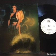 "Discos de vinilo: BRIAN ICE TALKING TO THE NIGHT - EXTENDED 12"" ITALO DISCO - SPAIN. Lote 221911946"