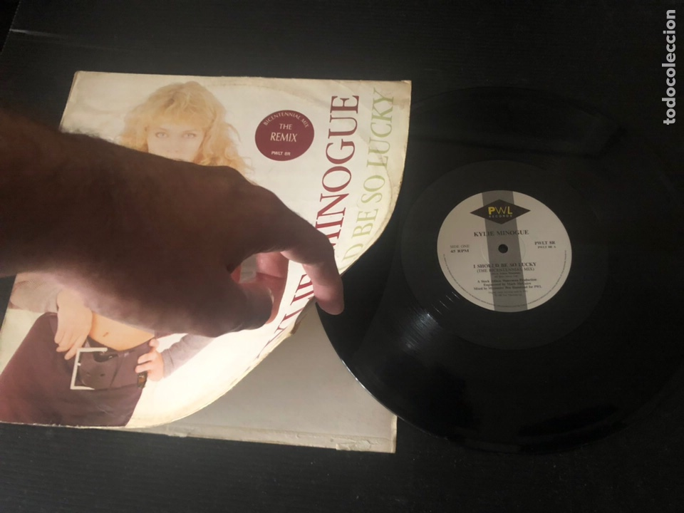 Discos de vinilo: Kylie Minogue ?– I Should Be So Lucky (Bicentennial Mix) - Foto 3 - 221912307