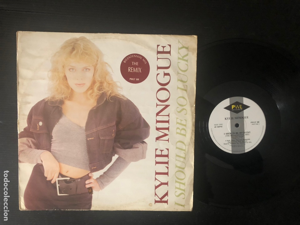 Discos de vinilo: Kylie Minogue ?– I Should Be So Lucky (Bicentennial Mix) - Foto 1 - 221912307