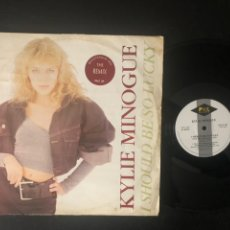 Discos de vinilo: KYLIE MINOGUE ?– I SHOULD BE SO LUCKY (BICENTENNIAL MIX). Lote 221912307