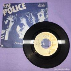 Discos de vinilo: SINGLE - THE POLICE -- MESSAGE IN A BOTTLE -- MADRID 1979 -- VG. Lote 221912543