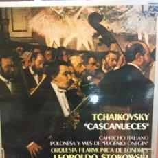 Discos de vinilo: TCHAIKOVSKY. CASCANUECES. ORQUESTA FILARMÓNICA DE LONDRES. PHILIPS. Lote 221913237
