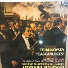 Discos de vinilo: TCHAIKOVSKY. CASCANUECES. ORQUESTA FILARMÓNICA DE LONDRES. PHILIPS. Lote 221913276