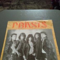 """Discos de vinilo: PRAXIS """" PRAXIS """" BANDA DE HEAVY METAL DE CULLERA (VALENCIA).DISCO FIRMADO POR JOSÉ FERRAGUD, CANTAN. Lote 221915790"""