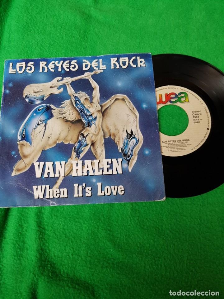 VAN HALE PROMO SPAIN EN OFERTA OPORTUNIDAD COLECCIONISTAS (Música - Discos - Singles Vinilo - Heavy - Metal)