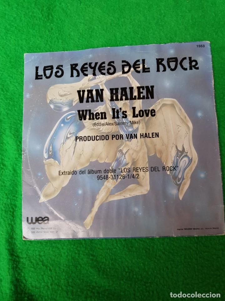 Discos de vinilo: VAN HALE PROMO SPAIN EN OFERTA OPORTUNIDAD COLECCIONISTAS - Foto 2 - 221919301