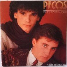 Discos de vinilo: PECOS - QUE NO LASTIMEN TU CORAZON - SINGLE SPAIN. Lote 221919596