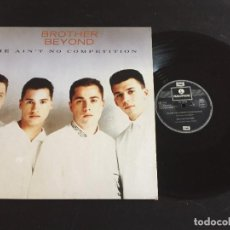 "Discos de vinilo: BROTHER BEYOND HE AIN'T NO COMPETITION - EXTENDED 12"" GERMANY. Lote 221920678"