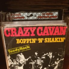 Discos de vinilo: CRAZY CAVAN AND THE RHYTHM ROCKERS / BOPPIN 'N' SHAKIN' / EDICIÓN ESPAÑOLA / CHARLY RECORDS 1979. Lote 221921555