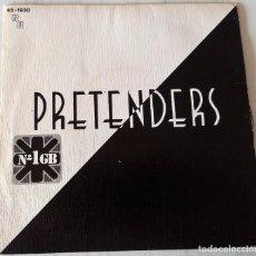 Discos de vinilo: PRETENDERS - BRASS IN POCKET REAL - 1979. Lote 221922018