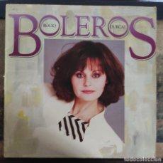 Discos de vinilo: ROCIO DURCAL. BOLEROS. LP VINILO.. Lote 221922048