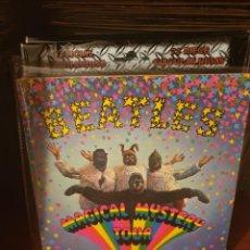 """Discos de vinilo: THE BEATLES / MAGICAL MYSTERY TOUR / DOBLE 7 """" / EDICIÓN FRANCESA / ODEON 1967. Lote 221922347"""
