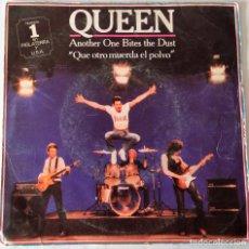 Discos de vinilo: QUEEN - ANOTHER ONE BITES THE DUST EMI - 1980. Lote 221922450