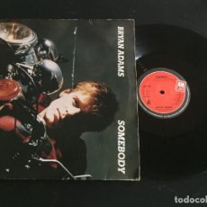 "Discos de vinilo: BRYAN ADAMS SOMEBODY - MAXI SINGLE 12"" UK. Lote 221924985"