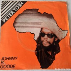 Discos de vinilo: PETER TOSH - JOHNNY B. GOOD EMI - 1983. Lote 221926296