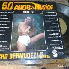 Discos de vinilo: LUCHO BERMUDEZ Y SU ORQUESTA / LP 33 RPM / DARO DISCO COMO NUEVO SEXI NUDE. Lote 221926307