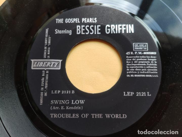 "Discos de vinilo: THE GOSPEL PEARLS & BESSIE GRIFF – Rarest Orig EP 45 Spain PS 7"" – EX * 1963 - Foto 4 - 221931498"