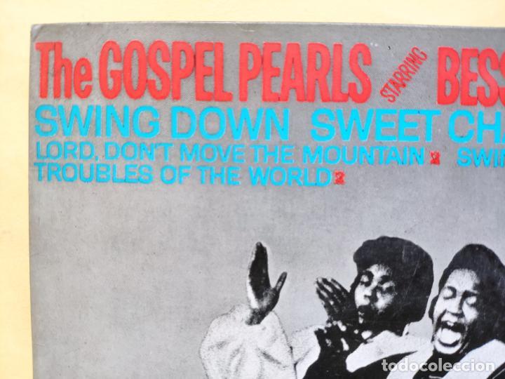 "Discos de vinilo: THE GOSPEL PEARLS & BESSIE GRIFF – Rarest Orig EP 45 Spain PS 7"" – EX * 1963 - Foto 5 - 221931498"