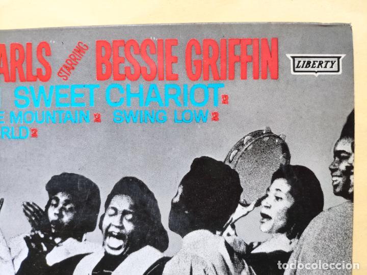 "Discos de vinilo: THE GOSPEL PEARLS & BESSIE GRIFF – Rarest Orig EP 45 Spain PS 7"" – EX * 1963 - Foto 6 - 221931498"