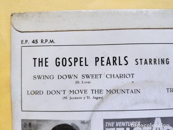 "Discos de vinilo: THE GOSPEL PEARLS & BESSIE GRIFF – Rarest Orig EP 45 Spain PS 7"" – EX * 1963 - Foto 9 - 221931498"