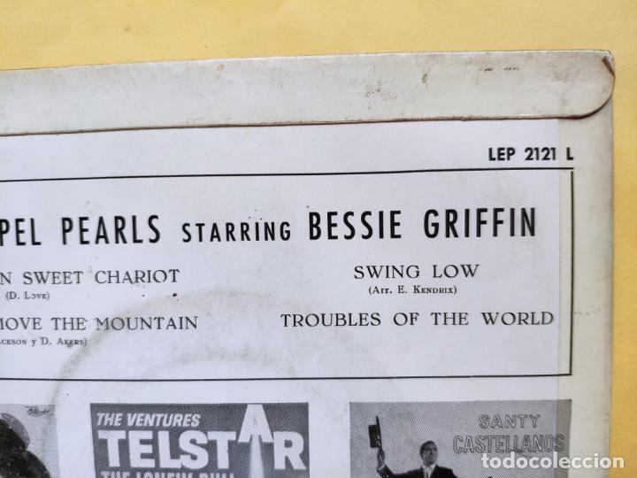 "Discos de vinilo: THE GOSPEL PEARLS & BESSIE GRIFF – Rarest Orig EP 45 Spain PS 7"" – EX * 1963 - Foto 10 - 221931498"