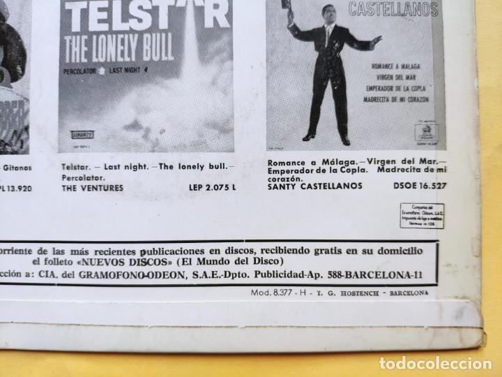 "Discos de vinilo: THE GOSPEL PEARLS & BESSIE GRIFF – Rarest Orig EP 45 Spain PS 7"" – EX * 1963 - Foto 11 - 221931498"