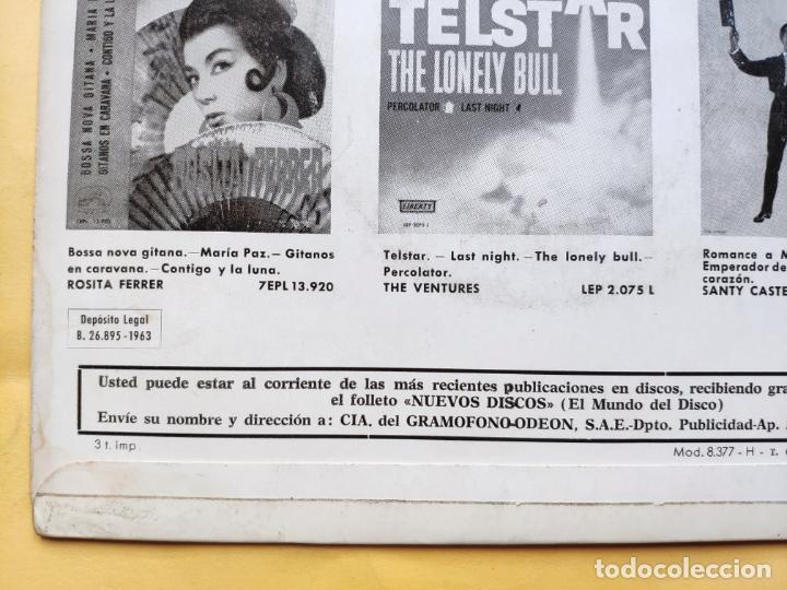 "Discos de vinilo: THE GOSPEL PEARLS & BESSIE GRIFF – Rarest Orig EP 45 Spain PS 7"" – EX * 1963 - Foto 12 - 221931498"