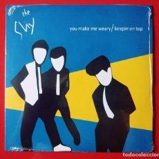 Discos de vinilo: SINGLE THE SHY. YOU MAKE ME WEARY. Lote 221932241