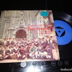 Discos de vinilo: AGRUPACION MUSICAL PEÑA ALCOYANO DE TOLOSA / EP 45 RPM / COLUMBIA 1965. Lote 221935118