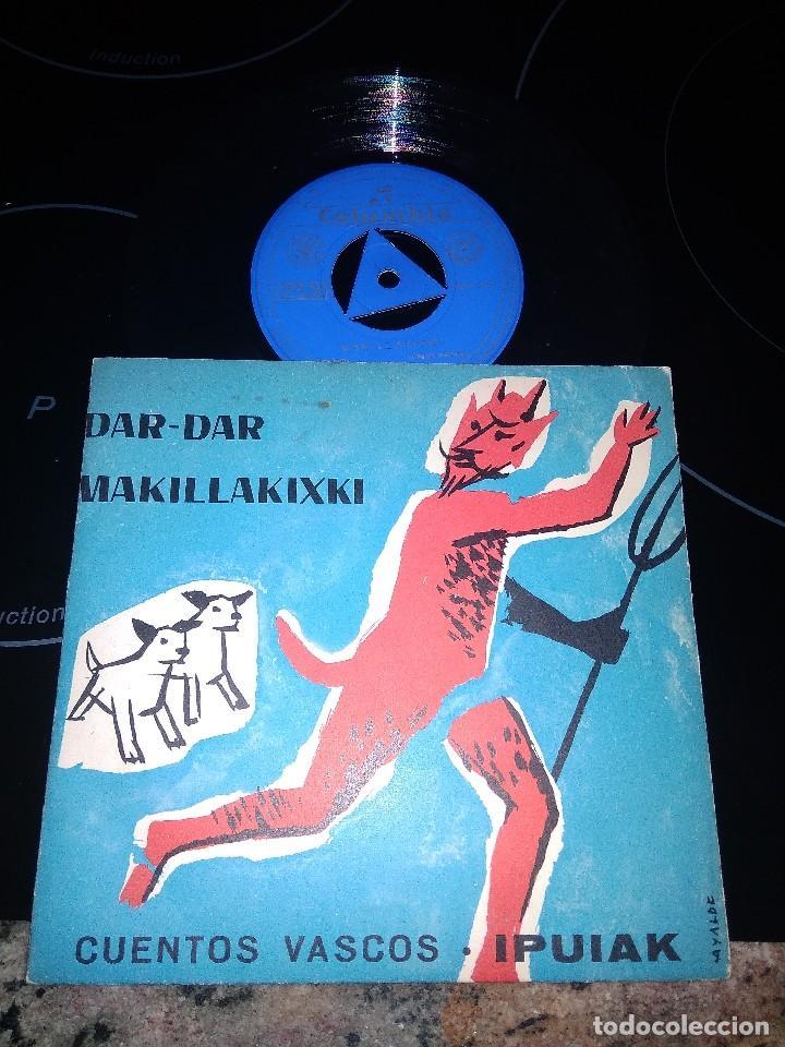 JARRAIEK / DAR DAR / SINGLE 45 RPM / COLUMBIA 1961 / CUENTOS VASCOS IPUIAK (Música - Discos - Singles Vinilo - Música Infantil)