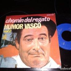 Discos de vinilo: CHOMIN DEL REGATO / COMO SON LAS MUJERES EP 45 RPM / HISPAVOX 1969. Lote 221936882