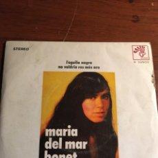 "Discos de vinilo: SINGLE 7"" MARIA DEL MAR BONET - L´AGUILA NEGRA. Lote 221937815"