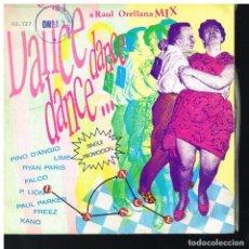 Discos de vinilo: DANCE, DANCE, DANCE MIX VOL 1 - SINGLE 1987 - PROMO. Lote 221938993
