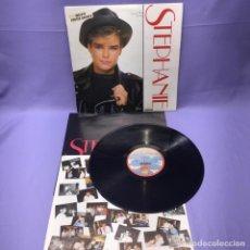 Discos de vinilo: LP -- STEPHANIE -- INCLUYE POSTER GIGANTE -- MADRID 1986 -- VG+. Lote 221939295