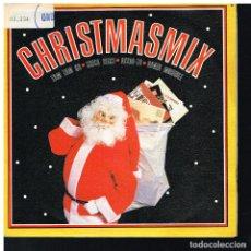 Discos de vinilo: CHRISTMAS MIX - SINGLE 1988 - PROMO. Lote 221940487