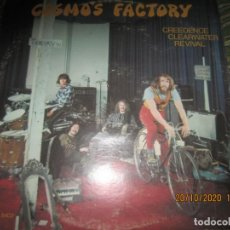 Dischi in vinile: CREEDENCE CLEARWATER REVIVAL - COSMO´S FACTORY LP - ORIGINAL U.S.A. - FANTASY 1970 - 8402 STEREO -. Lote 221941026