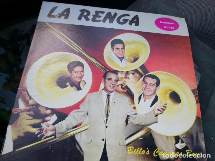 LP BILLO'S CARACAS BOYS... LA RENGA.. LP-520 (Música - Discos - LP Vinilo - Grupos y Solistas de latinoamérica)