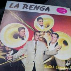 Discos de vinilo: LP BILLO'S CARACAS BOYS... LA RENGA.. LP-520. Lote 221942883