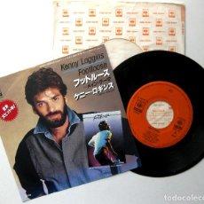 Discos de vinilo: KENNY LOGGINS - FOOTLOOSE - SINGLE CBS/SONY 1984 JAPAN (EDICIÓN JAPONESA) BPY. Lote 221943791
