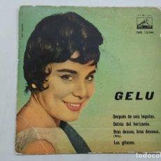 Discos de vinilo: EP GELU, DESPUES DE 6 TEQUILAS , PORTADA SOLO !!. Lote 221946570