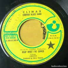 Discos de vinilo: CLIMAX CHICAGO BLUES BAND - REAP WHAT I'VE SOWED. Lote 221947155