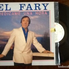 Discos de vinilo: EL FARY. DEDICAME 1 HORA.L.P. 1990. ENVIO INCLUIDO.. Lote 221947180