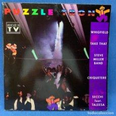 Discos de vinilo: LP - VINILO PUZZLE TRON - DOBLE PORTADA - DOBLE LP - ESPAÑA - AÑO 1993. Lote 221950686