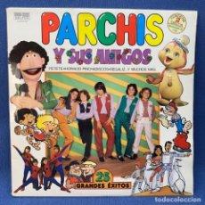 Discos de vinilo: LP - VINILO PARCHIS Y SUS AMIGOS - 25 GRANDES ÉXITOS - DOBLE PORTADA - DOBLE LP - ESPAÑA - AÑO 1981. Lote 221952112