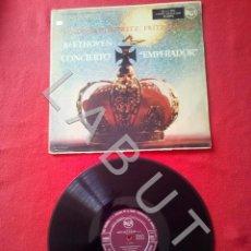 Discos de vinilo: BEETHOVEN VLADIMIR HOROWITZ FRITZ REINER CONCIERTO EMPERADOR 5 3L16018 LP D5. Lote 296555818