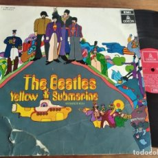 Disques de vinyle: THE BEATLES - YELLOW SUBMARINE *** RARO LP ESPAÑOL STEREO 1969, MIRAR ESTADO PORTADA. Lote 221953958