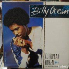 Discos de vinilo: BILLY OCEAN - EUROPEAN QUEEN (NO MORE LOVE ON THE RUN) - MAXI SINGLE DEL SELLO JIVE 1984. Lote 221954983